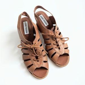 Steve Madden | Baara Lace Up Chunky Heel Sandal
